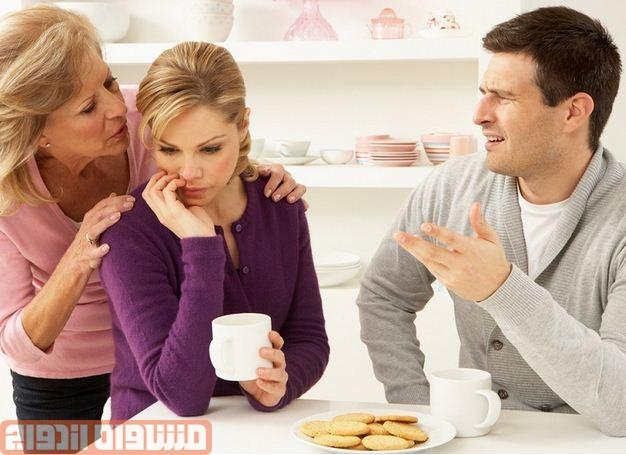 بهبود روابط خانواده با عروس و داماد